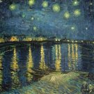Starry Night Over Rhone Vincent van Gogh Poster 20X30 Art Print