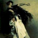 The Spanish Dancer John Singer Sargent Poster 20X30 Art Print