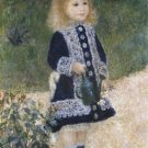 Girl with a Watering Can Pierre Auguste Renoir Poster 20X30 Art Print