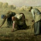 The Gleaners Jean Francois Millet Poster 20X30 Art Print