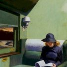 Compartment C Car 293 Edward Hopper Poster 20X30 Art Print