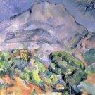 Mont Sainte Victoire Paul Cezanne Poster 20X30 Art Print