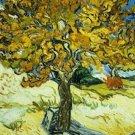 Mulberry Tree Vincent van Gogh Poster 20X30 Art Print