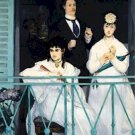 The Balcony Edouard Manet Poster 20X30 Art Print