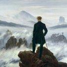 Wanderer Above the Sea of Fog Caspar David Friedrich Poster 20X30 Art Print