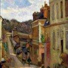 Rue Jouvenet in Rouen Paul Gauguin Poster 20X30 Art Print