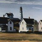 Lighthouse Hill Cape Elizabeth ME Edward Hopper Poster 20X30 Art Print
