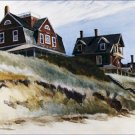 Cottages at Wellfleet Edward Hopper Poster 20X30 Art Print
