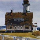 Captain Strout's House Edward Hopper Poster 20X30 Art Print