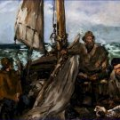 Workers of the Sea Edouard Manet Poster 20X30 Art Print