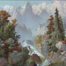 Cascade in the Rocky Mountains Gibson and Co Poster 20X30 Art Print