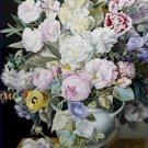 Still Life Flowers Marble Ledge de Boisbaudran Poster 20X30 Art Print