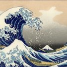 The Great Wave Katsushika Hokusai Poster 20X30 Art Print