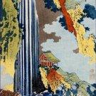 Ono Waterfall Along the Kisokaido Hokusai Poster 20X30 Art Print