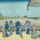 Sazai Hall of Five Hundred Rakan Temple Hokusai Poster 20X30 Art Print