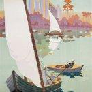 20X30 Art Deco Travel poster for Egypt