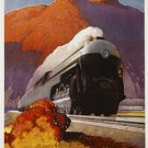 20X30 Art Deco Poster New Empire State Express
