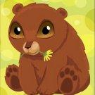 Poster Baby Toddler Teddy Bear Anime 16X20 Art Print