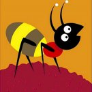 Poster Baby Toddler Cute Ant 16X20 Art Print