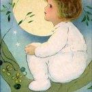 Poster Baby Toddler Girl Sitting in Tree 20X30 Art Print