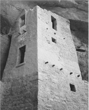 Ansel Adams Black and White Photo 8X10 Cliff Palace Mesa Verde National Park