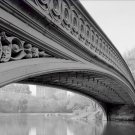 Black and White Photo 8X10 Central Park New York Bow Bridge