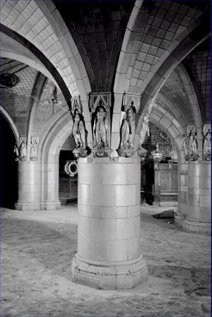 Black and White Photo 8X12 Rookwood Pelican Figurines Seelbach Hotel