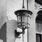 Black and White Photo 8X10 Lantern High Gate Carriage House