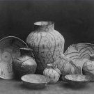 Black and White Photo 8X10 Apache Baskets Still Life