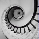 Black and White Photo 8X10 Staircase Captain Charles Shrewsbury House