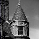 Black and White Photo 8X10 Turret Samuel Cupples House Missouri