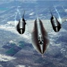 SR-71 Blackbird strategic reconnaissance aircraft Photograph 8X12