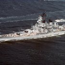 USS WISCONSIN BB 64 Naval Station Norfolk Photograph 8X12
