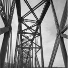 Black and White Photo 8X10 Million Dollar Bridge Copper River Alaska