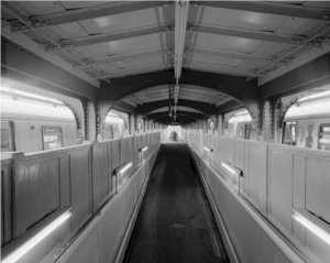 Black and White Photo 8X10 Stillwell Avenue Station Brooklyn New York