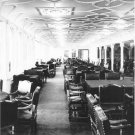 Black and White Photo 8X10 Titanic First Class Dining Salon