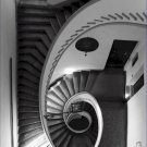 Black and White Photo 8X10 Staircase Palazzo Isolani Bologna Italy