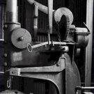 Black and White Photo 8X10 Wheel Boring Machine nbr 5