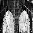 Black and White Photo 8X10 Brooklyn Bridge nbr 4