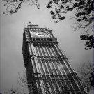Black and White Photo 8X10 Big Ben clock tower