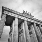 Black and White Photo 8X10 Brandenburg Gate