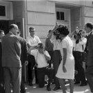 Civil Rights Photo 8X10 Vivian Malone entering Foster Auditorium University Alabama