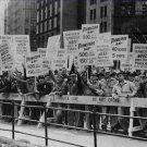 Labor Unions Photo 8X12 City Workers Strike City Hall