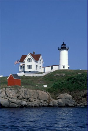 Cape Neddick The Nubble Light Maine Poster 20X30 Art Print