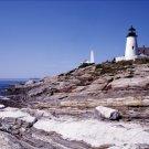 Pemaquid Point Lighthouse Light Maine Poster 20X30 Art Print