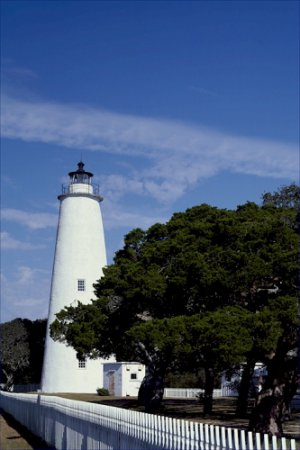 Ocracoke Lighthouse Light North Carolina Poster 20X30 Art Print