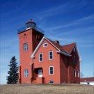Two Harbors Lighthouse Minnesota Poster 16X20 Art Print