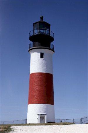 Sankaty Head Lighthouse Light Massachusetts Poster 20X30 Art Print
