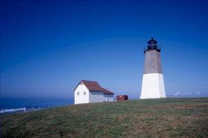 Point Judith Lighthouse Light Rhode Island Poster 20X30 Art Print
