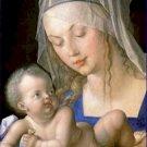 Madonna of the Pear Albrecht Durer Poster 20X30 Art Print